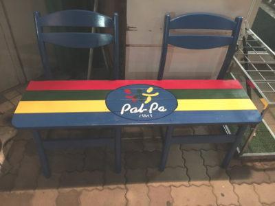 パルパ仕様のベンチです