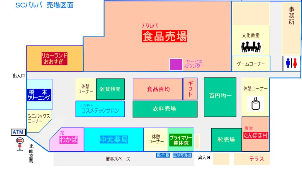 甲田SC売場図面